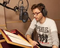 Not strictly a book but who's counting, it's David Tennant, for God's sake.
